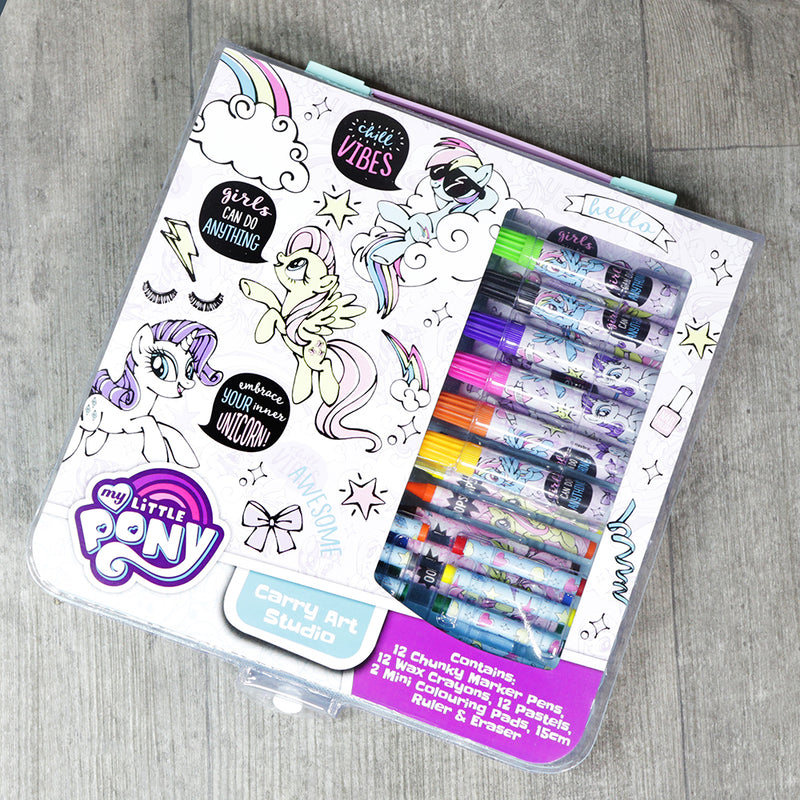 My Little Pony Carry Art Studio Colouring Set