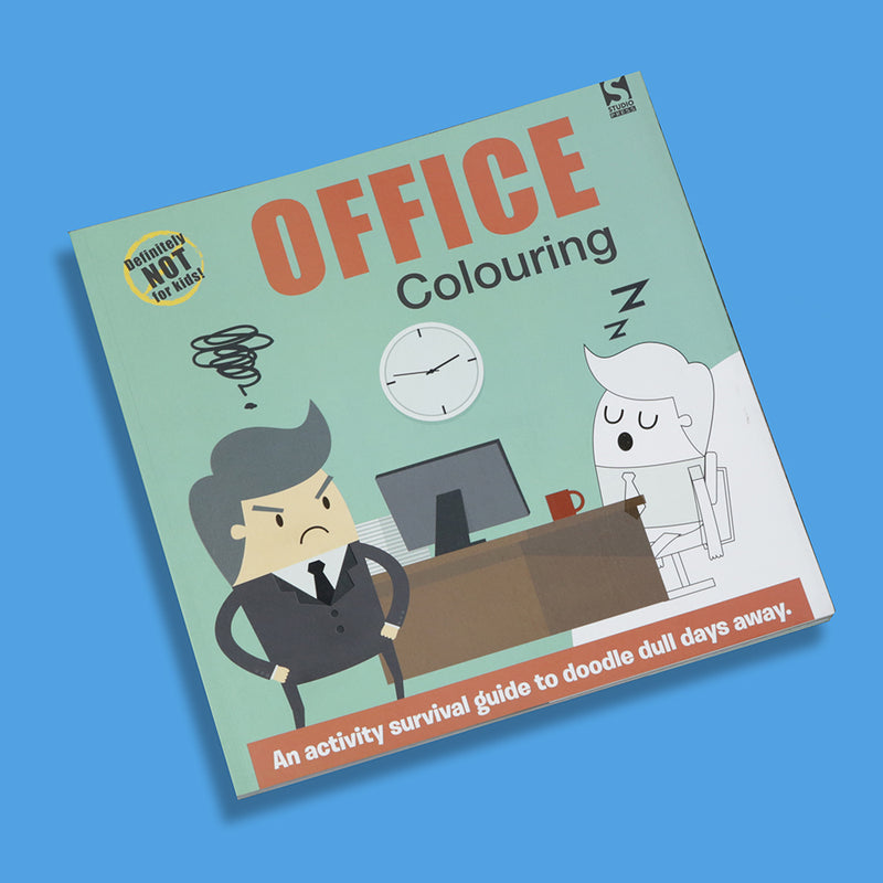Office Colouring Book