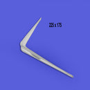 White London Utility Bracket 225 x 175mm