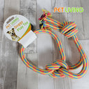 Pet Living Chunky Knotted Rope Doggy Play Toy