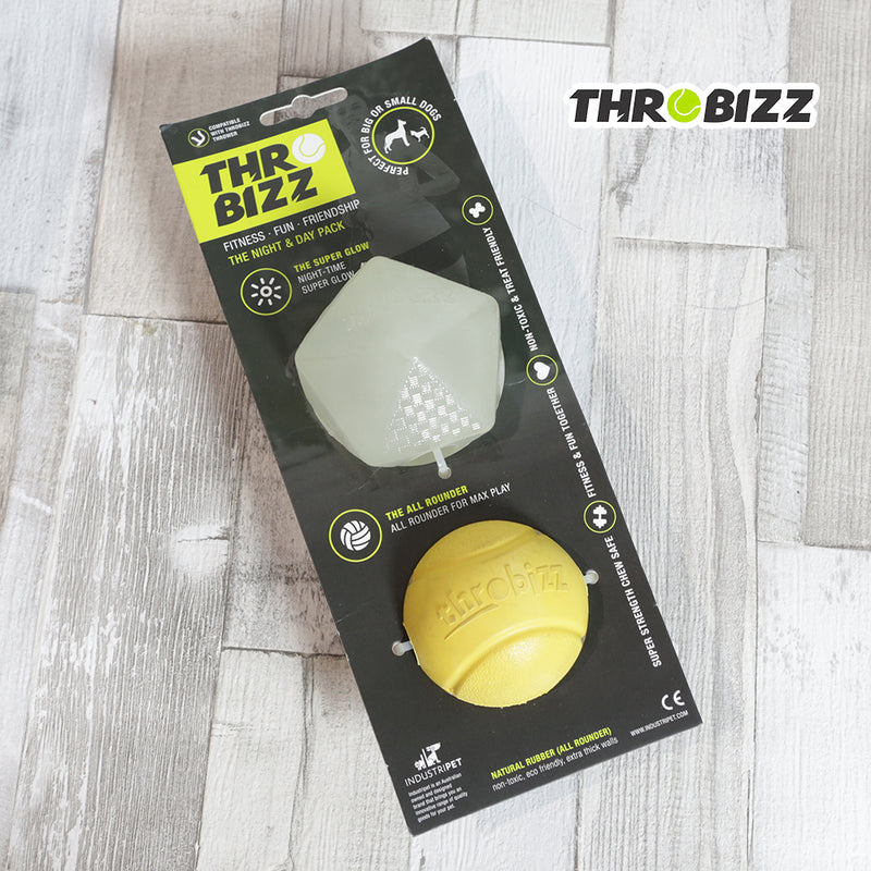Throbizz Night and Day Balls - 2 Pack