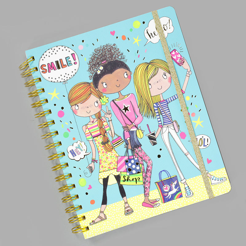 Rachel Ellen Designs Girls Selfie Notebook