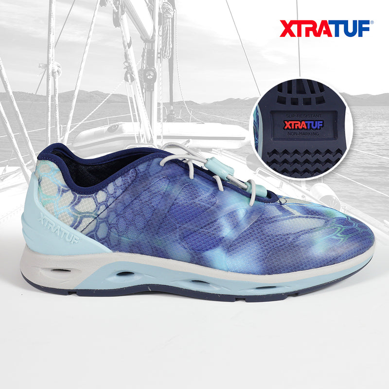 XTRATUF Women's Spindrift Kryptek Pontus Drainage Shoes