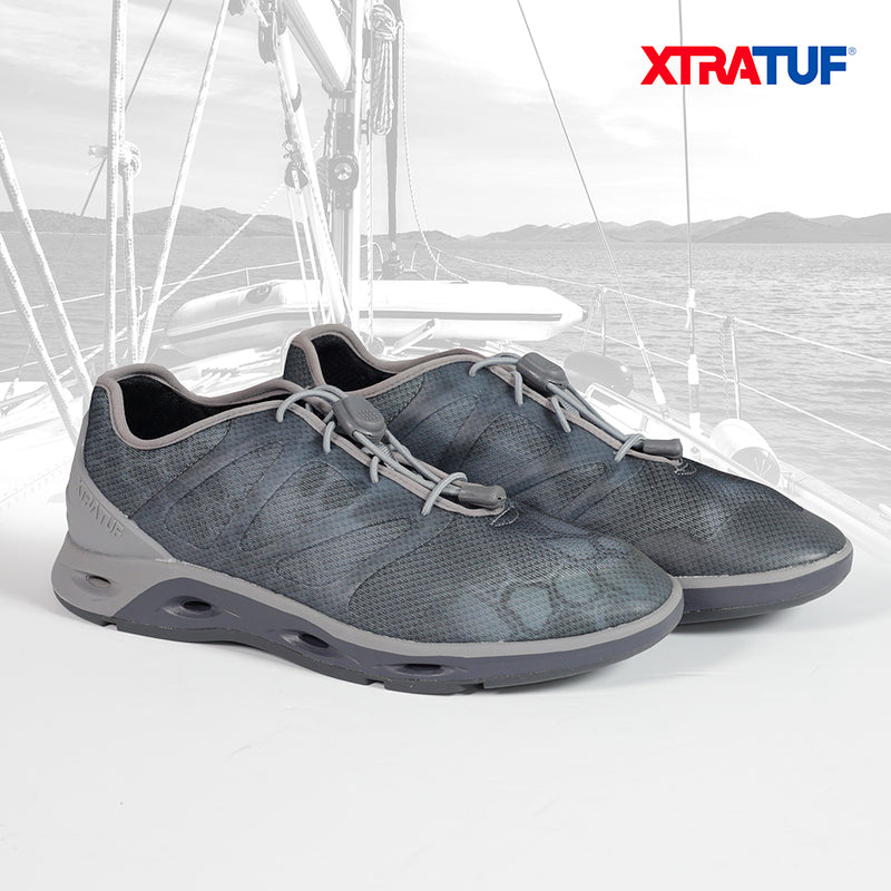 XTRATUF Men's Spindrift Kryptek Typhon Drainage Shoes