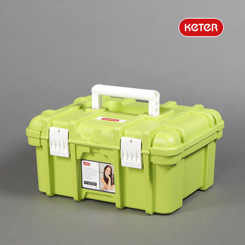 Keter Wide Hobby Box - Green