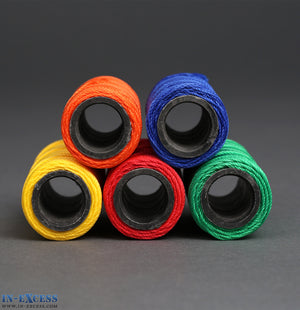 Qty 15 (3x5) Nylon Twine Upholstery Craft Buttoning Multipurpose String Coloured