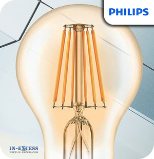Philips Classic LED Bulb 7.5W (48W) Dimmable A60 B22 820 Gold - Extra Warm White