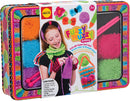 Alex Toys Children's Fuzzy Wuzzy Knitting Kit with Needles/ Yarn and Keepsake Tin