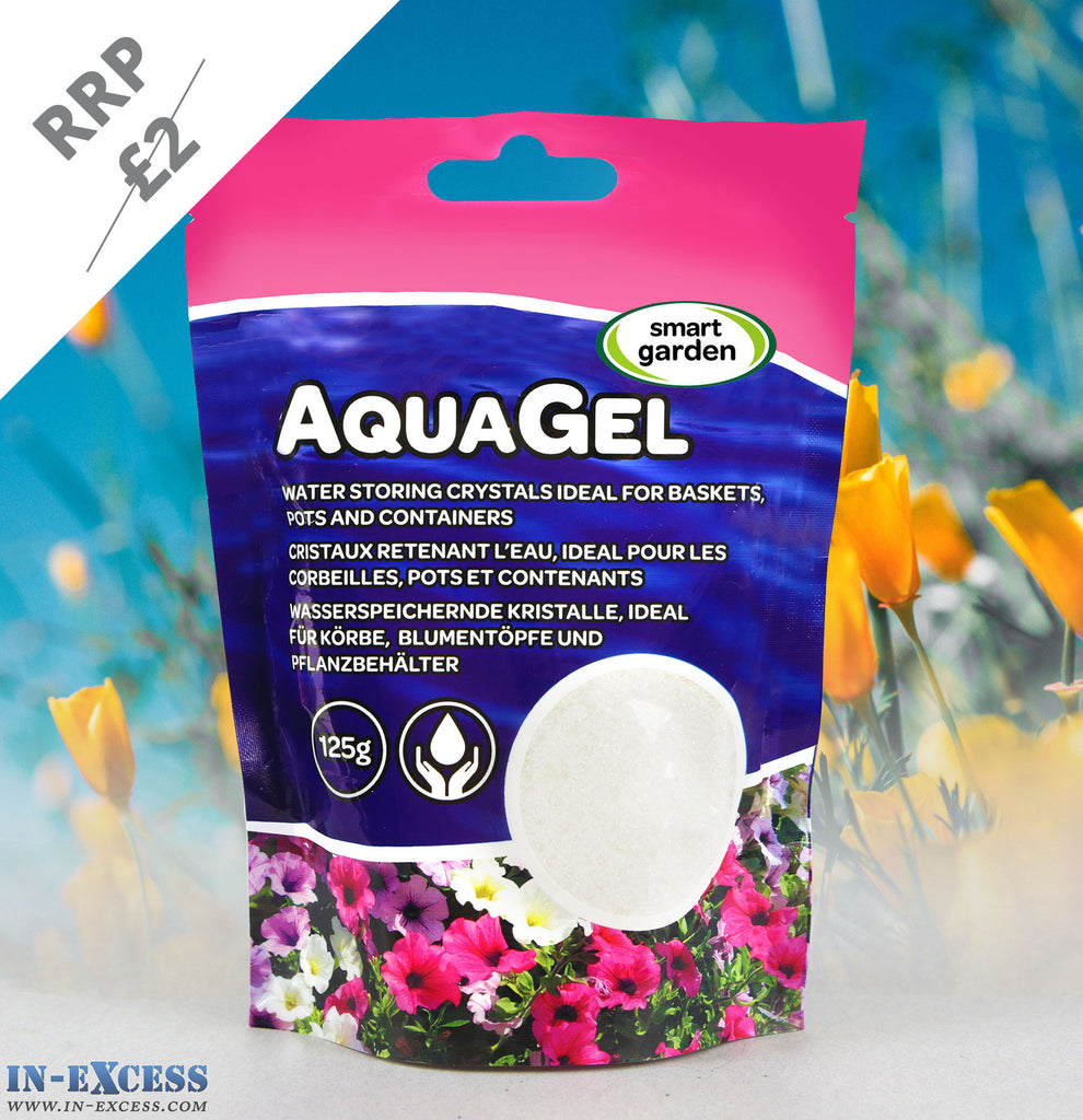 Smart Garden AquaGel  Water Gel For Basket Pot And Container 125g