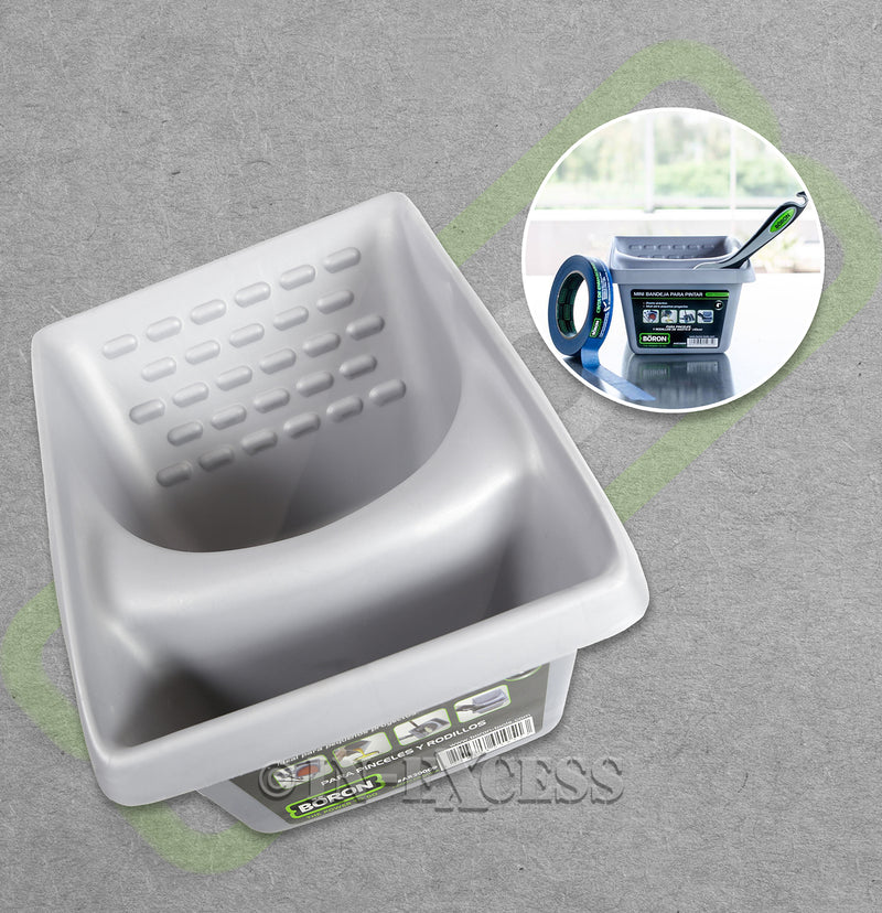 Boron Professional Series Mini Tray - For Brushes and Mini Rollers