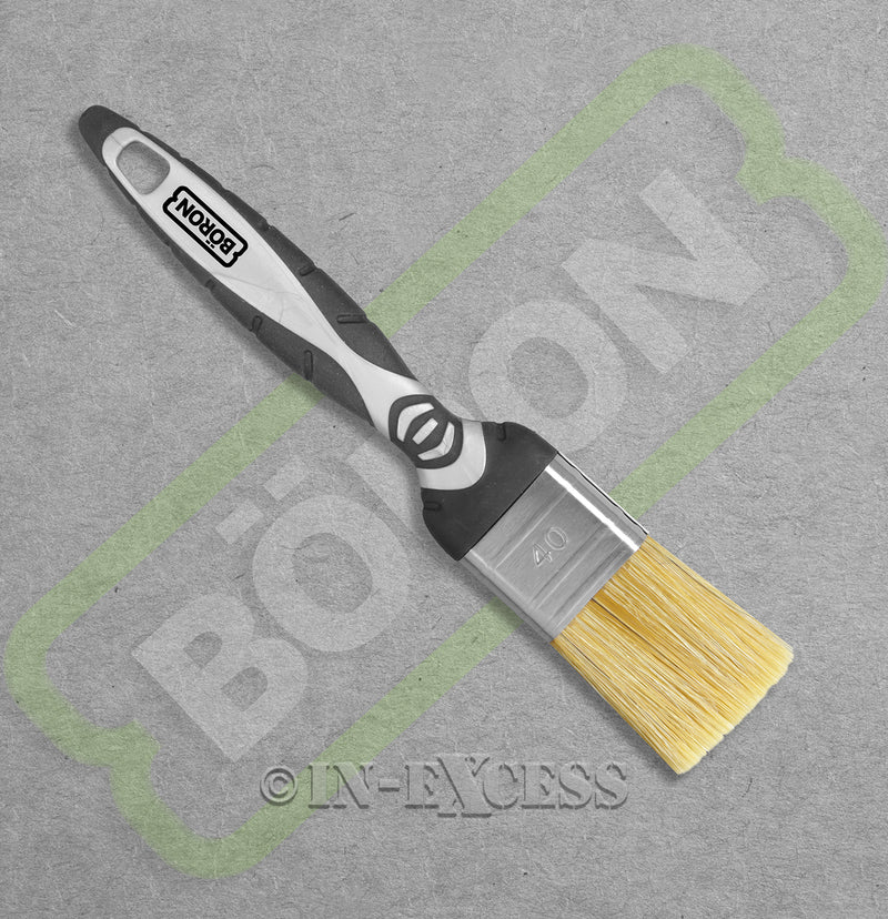 Boron Professional Tools Natural Finish Brush - 40mm 1.5""