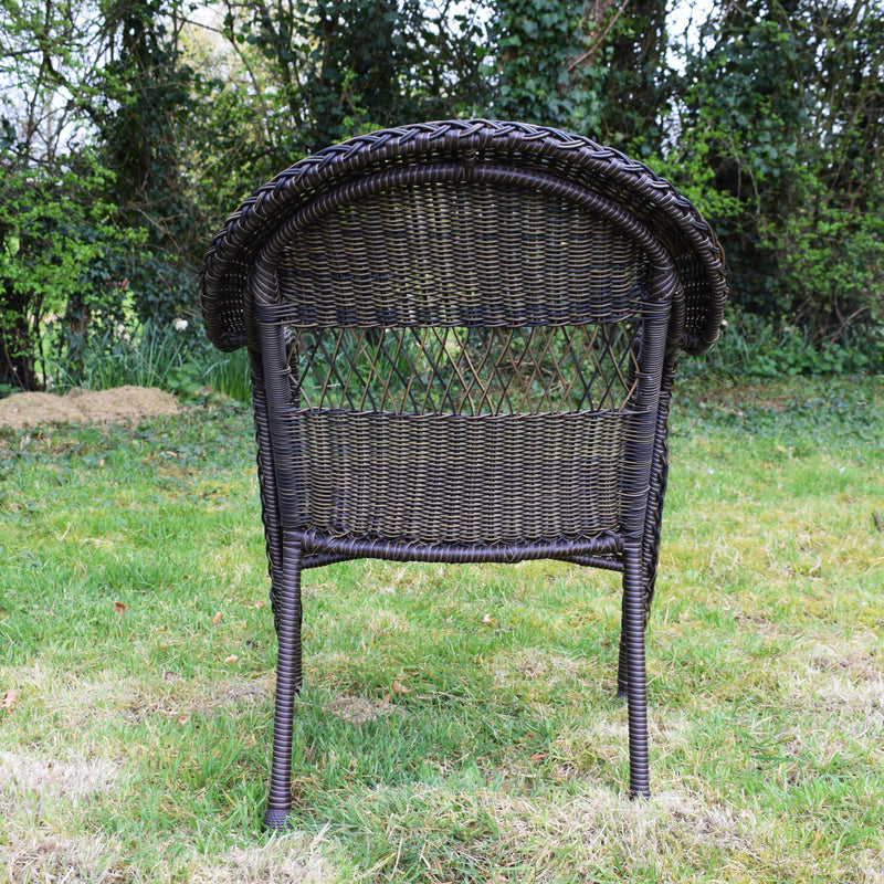 Outdoor American Faux Rattan Chair