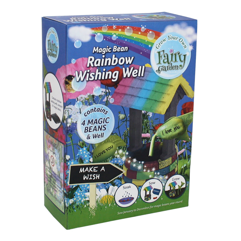 G Plants Grow Your Own Fairy Garden With Magic Beans  - Magic Rainbow Wishing Well