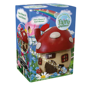 G Plants Grow Your Own Fairy Garden With Rainbow Flowers - Magical Tooth Fairy House