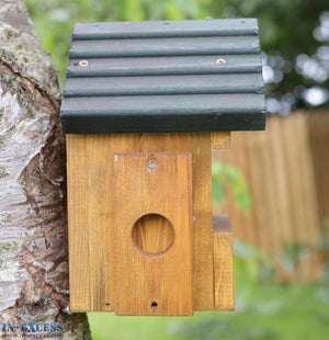 Tom Chambers PRB016 Multi Nester Handcrafted Wooden Bird Nest Box