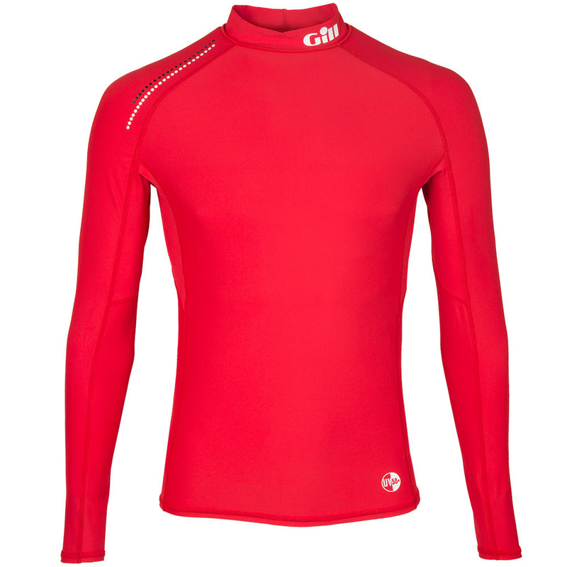 Gill Pro Rash Vest Long Sleeve - Mens