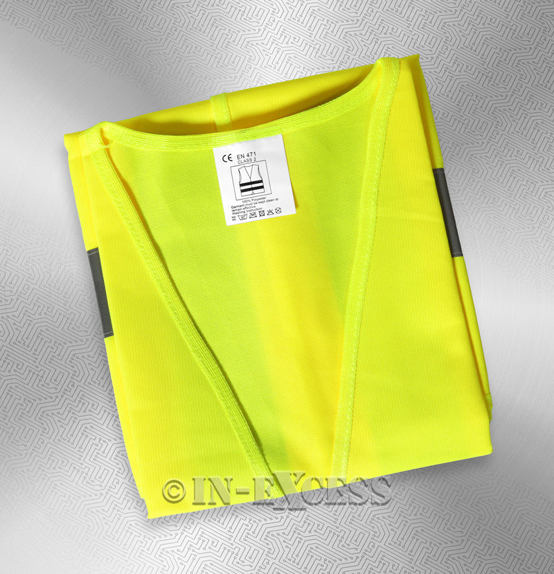 Photo of AVSL Mercury Trade Yellow High Visibility Vest EXTRA LARGE with tag