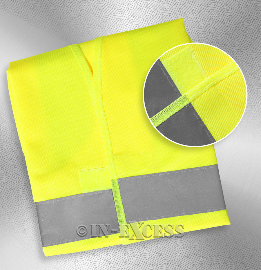 Photo of AVSL Mercury Trade Yellow High Visibility Vest LARGE Packaging