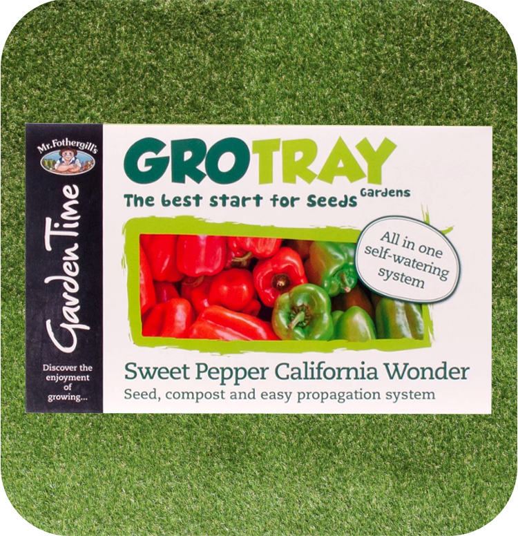 Mr Fothergill's GroTray Sweet Pepper California Wonder