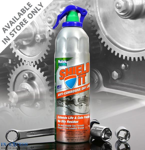 Nutek Green Shield It Anti-Corrosive Dry Lube 255g