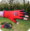 Rhino TraffiGlove Red Cut Level 1 Safety Gloves - Small