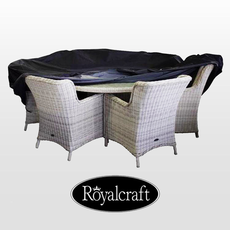 Royalcraft Heavy Duty 6 Seater Round Dining Set Cover