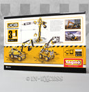 Photo of Engino JCB Tall Crane Motorized 3-in-1 Construction Set  Back
