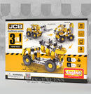 Photo of Engino Machinery Series JCB Tipper Truck 3 in 1 Build And Play front
