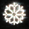 Lyyt - Outdoor Neon LED Snowflake - Bright White