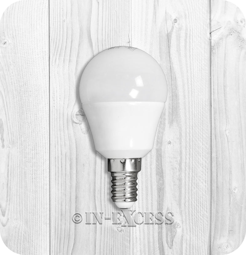 Status LED Round Lightbulb 5.5w