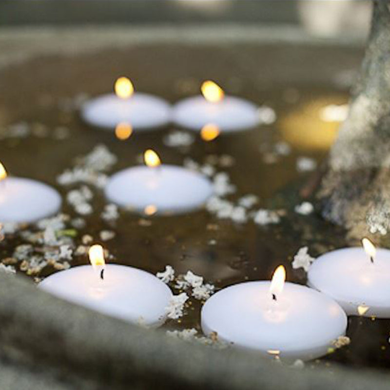 Baltus White Floating Candles - 6 Pack