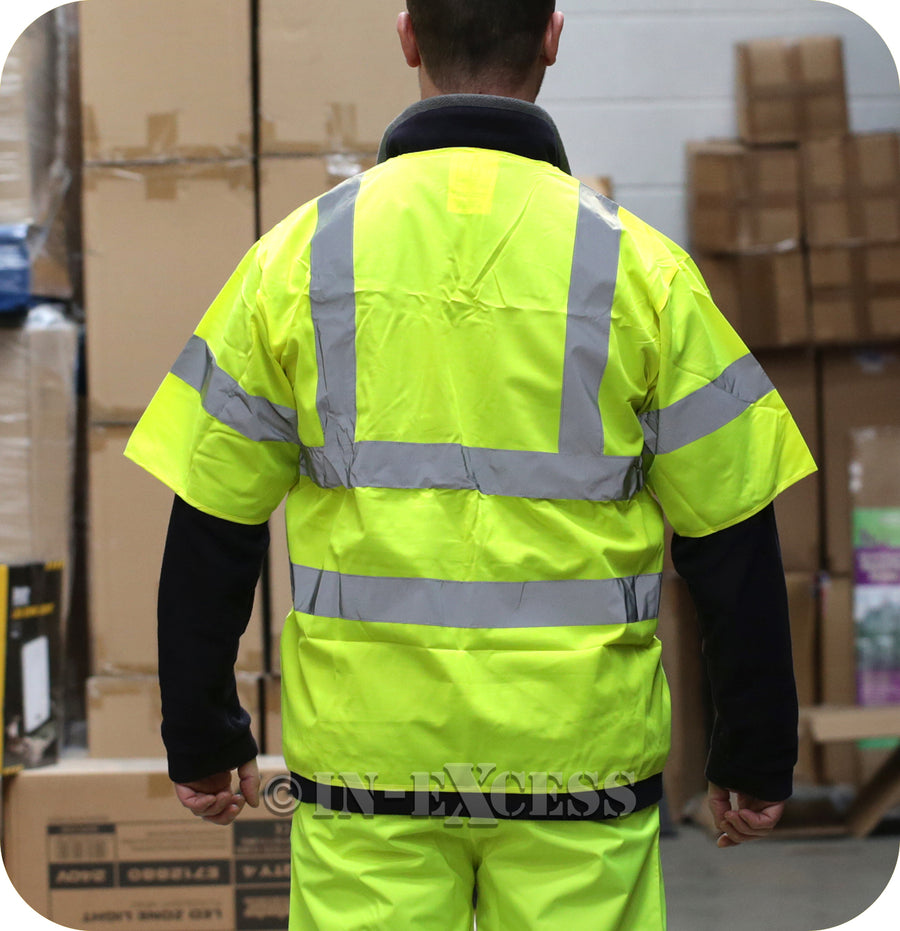 Vizwear JJB High Visibility Emergency Short Sleeve Jacket - One Size