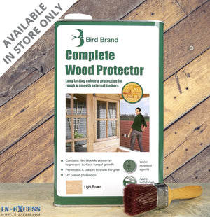Bird Brand Complete Wood Protector 5 Ltr Various Colours