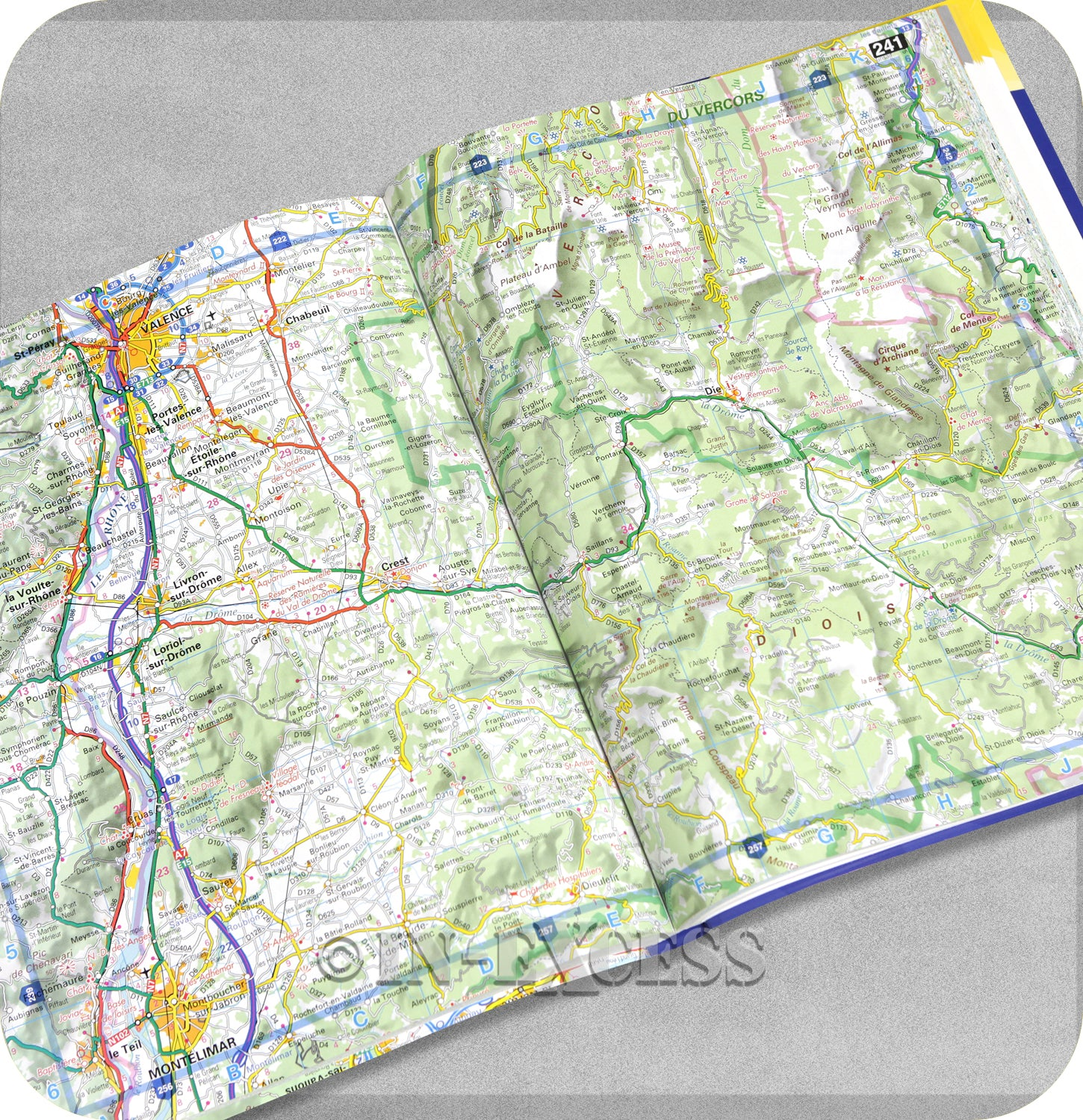 A4 Map Of France.Aa Easy Read Atlas France 2019 Planner Larger Scale Mapping