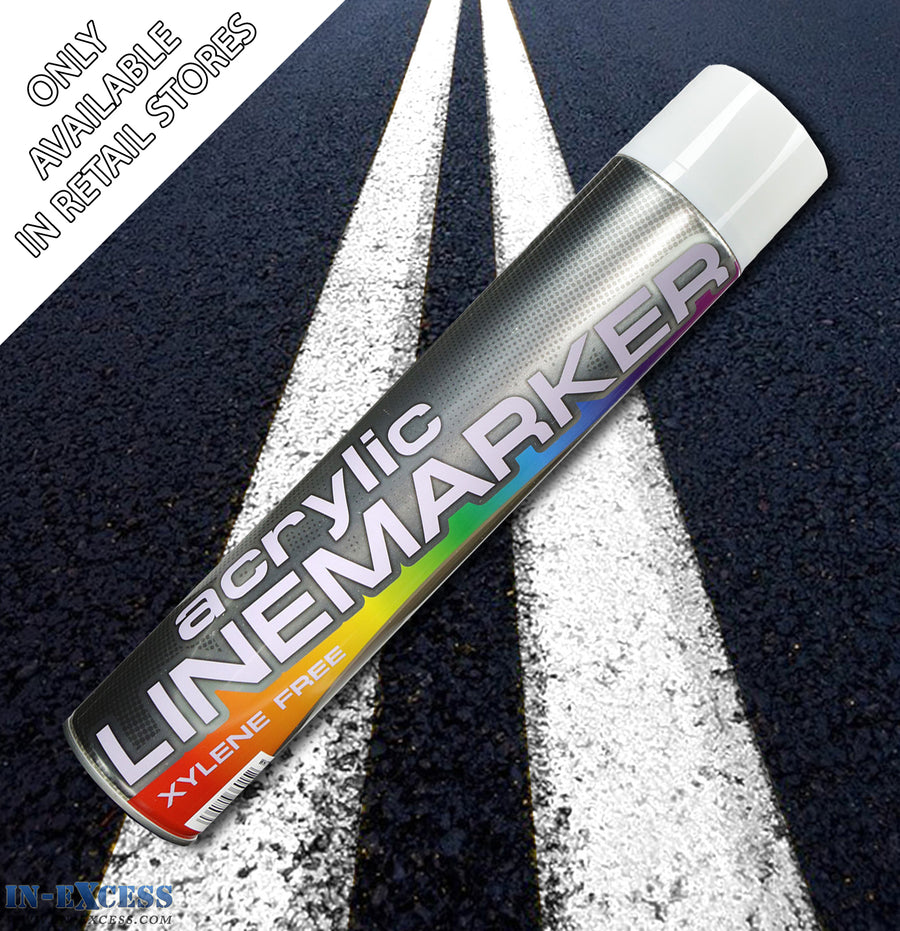 Acrylic Traffic Line Marking Paint 750ml - White