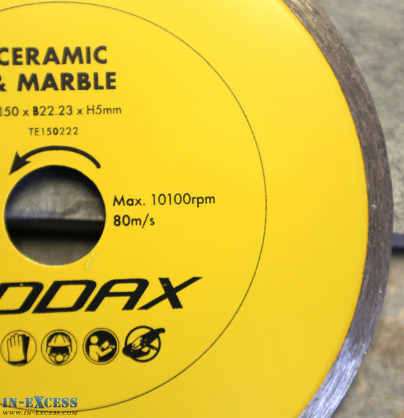 ADDAX TIMCO Diamond Ceramic Tile/Marble Cutting Disc Saw Blade *Various Sizes*