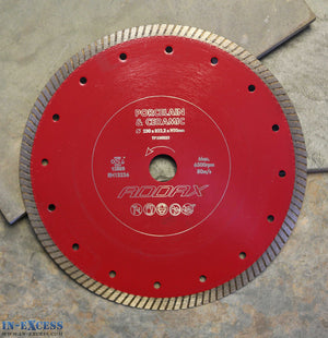ADDAX TIMCO Porcelain/Ceramic Tile Cutting Saw Blade 230 x 22.2 x 1mm