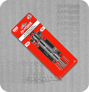 "Ajustco AjustLock Stainless Steel Adjustable Barrel Bolt - 100mm (4"")"