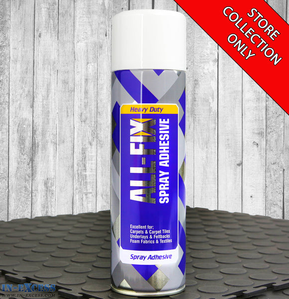 ALL-FIX Heavy Duty Spray Adhesive 500ml