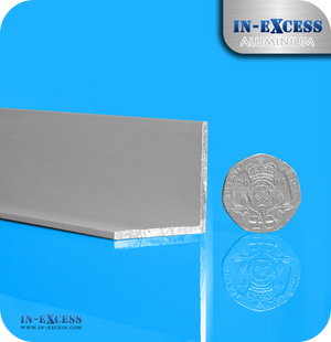 Aluminium Angle Equal Sided HC6061 Mill Finish - 30 x 30 x 2mm