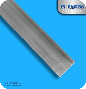 Aluminium Angle Unequal Sided HC6061 Mill Finish - 50mm x 30mm x 14swg