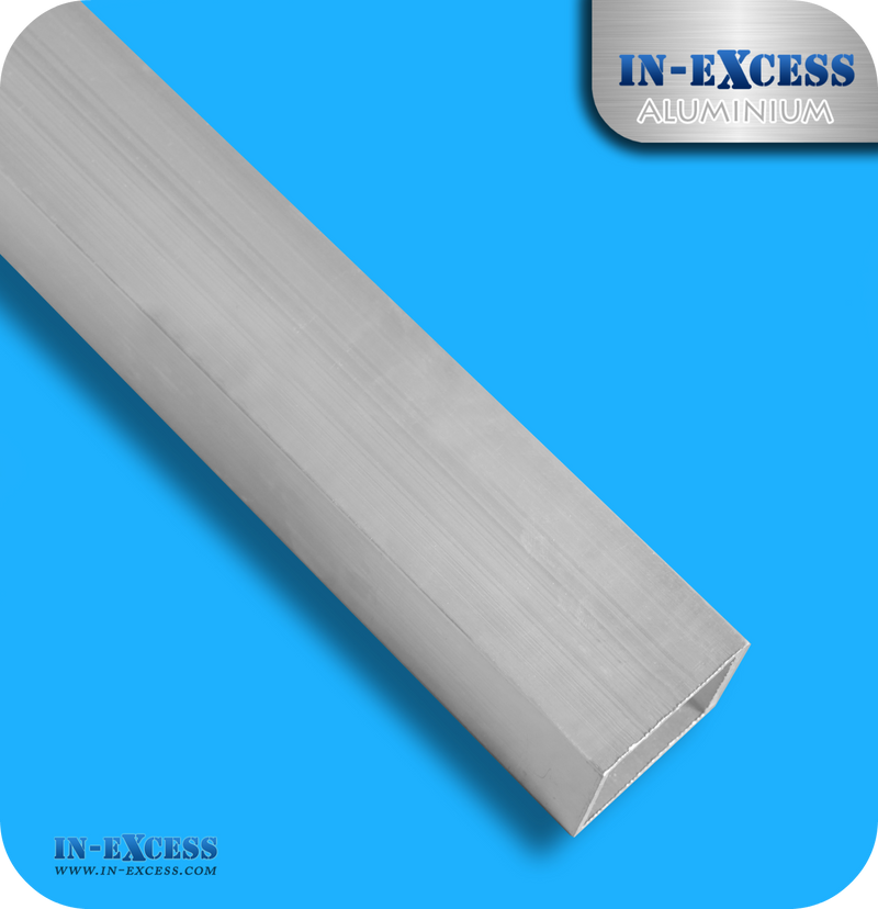 Aluminium Square Tube HC6061 Mill Finish - 40 x 40 x 14swg
