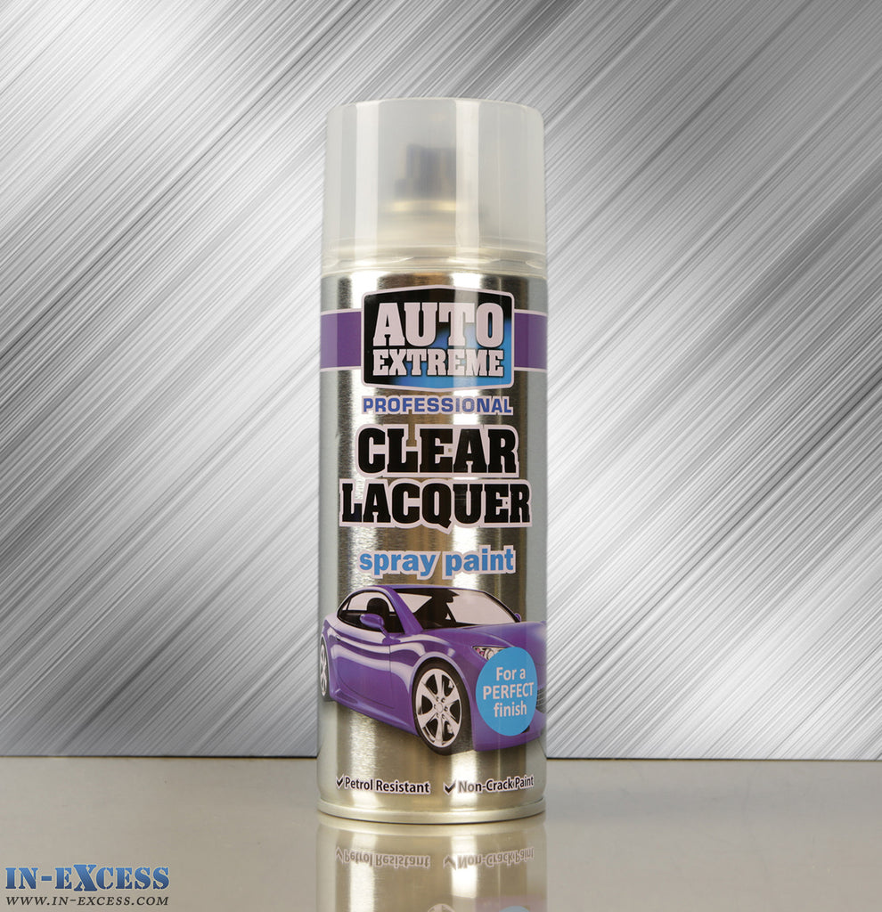 Auto Extreme Professional Spray Paint - Clear Lacquer 400ml