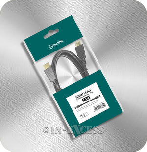 AVSL AV:Link High Quality 4K Console TV HDMI Cable - 1.5m