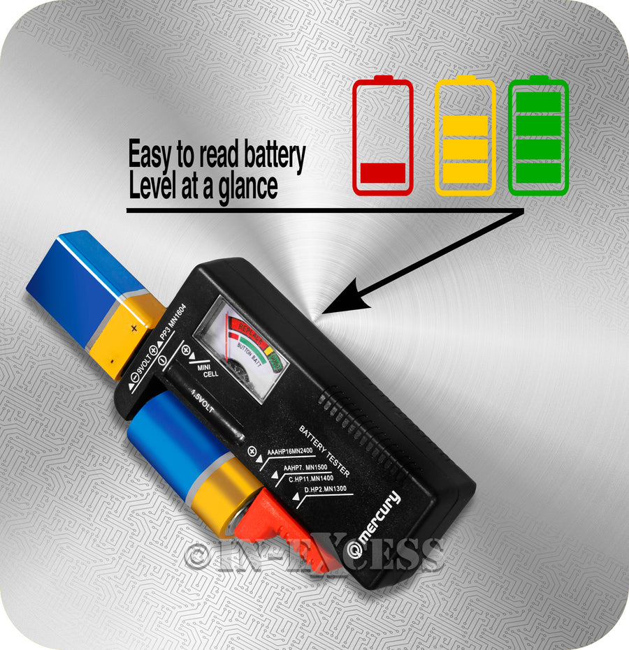 AVSL Mercury Analogue Universal Battery Tester
