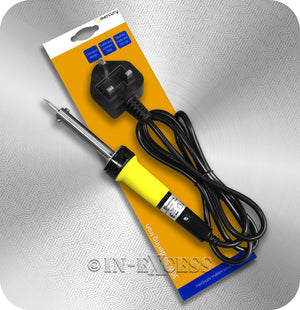 AVSL Mercury Compact Mains Powered Soldering Iron - 30W