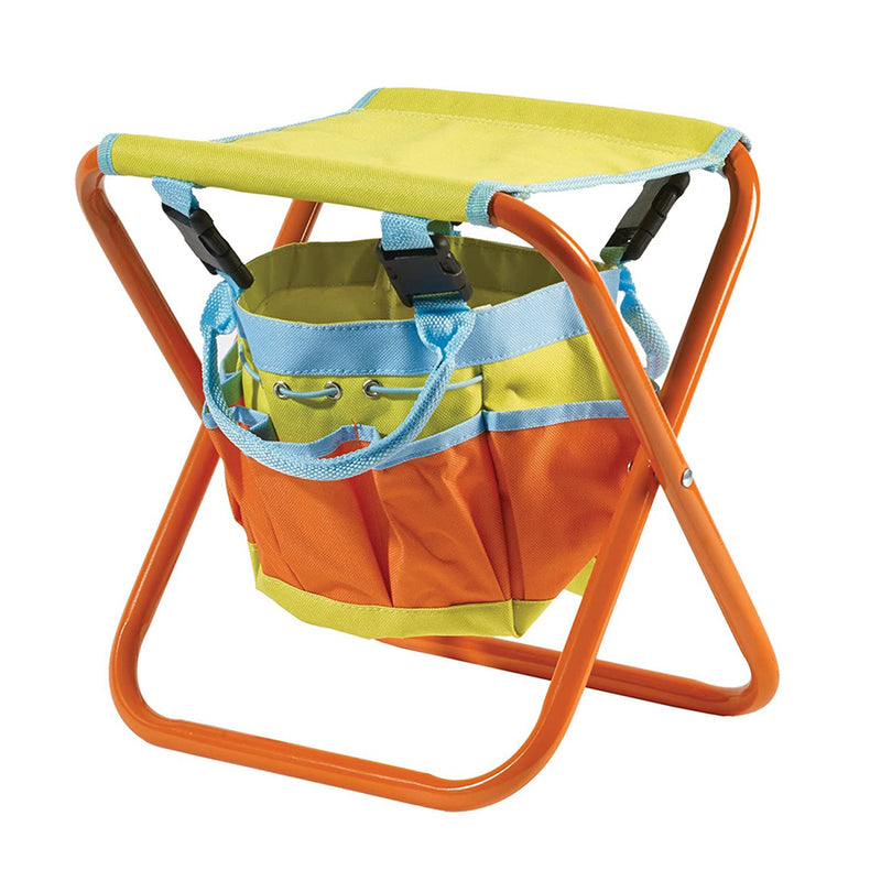 Briers Kids Garden Tool Bag folding seat