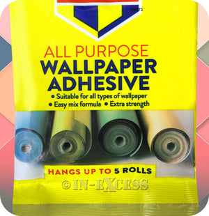 Bartoline All Purpose Easy Mix Wallpaper Adhesive Paste - 95g