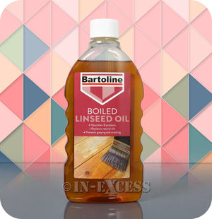 Bartoline Natural Oil Replacement Boiled Linseed Oil - 500ml