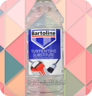 Bartoline Brush & Paint Cleaner Turpentine Substitute - 750ml